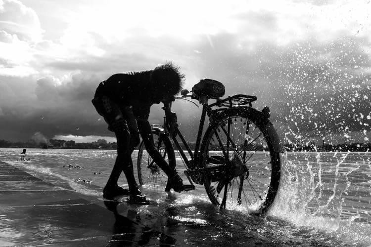 Bishnu Goenka, West Bengal  #bishnugoenka #bicycle #sea  #art #photographer #photogallery #nature #beautiful #love #travel #blackandwhite #bnw  #reflection #shadow #light  #minimalism #simple  #streetphotography #portrait #blackandwhitephotography #simpleisbeautifulphotography