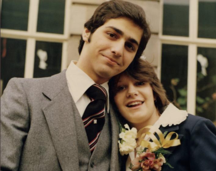 Happy 43rd anniversary Mrs P...where has that time gone !!? #HappyAnniversary