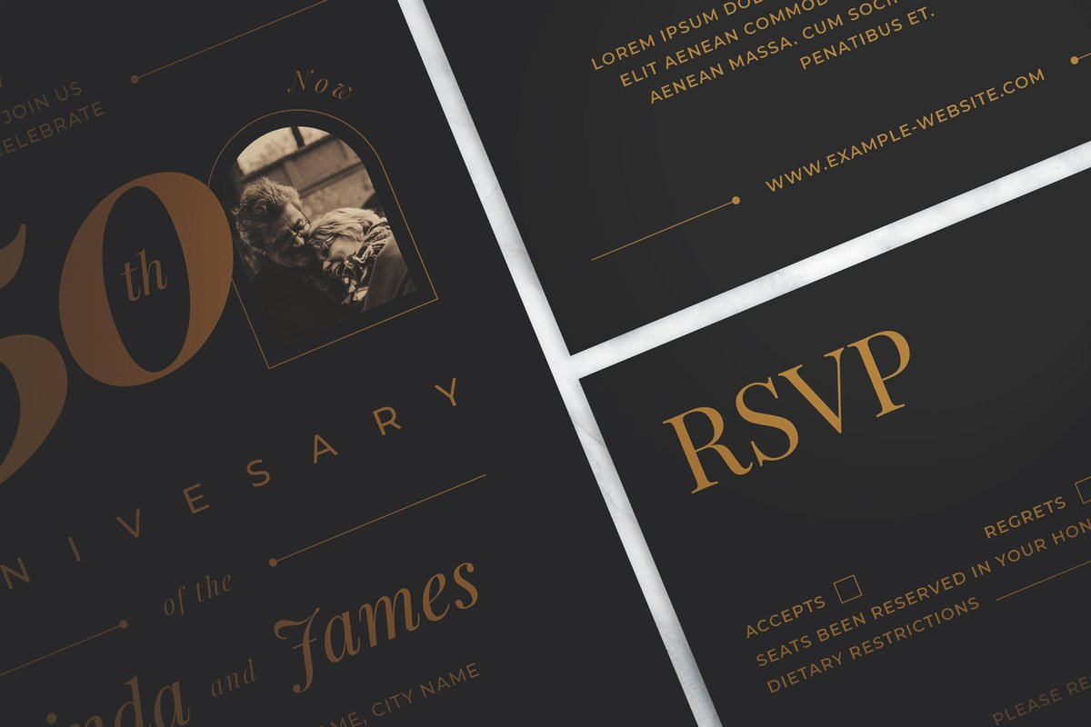Check out Wedding Anniversary Invitation Suite by The Good Store at Creative Market  #wedding #Anniversary #weddings #weddinganniversary #template #invitation #card #weddinginvitations #celebration #flyer #poster #posterdesign #artdeco #illustration #modern