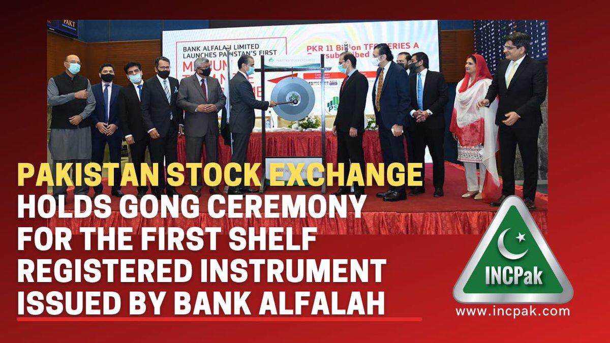 PSX Holds Gong Ceremony  by Bank Alfalah  #GongCeremony #PSX #Pakistan #BankAlfalah #Latest #Business #News #INCPAK