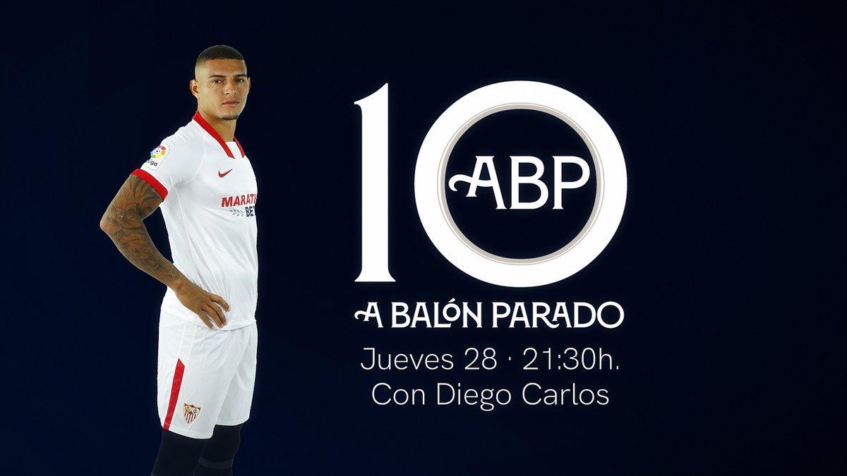 🆕 Esta noche, nuevo programa de #ABP con Diego Carlos como invitado. 😏  ¡No te lo pierdas! 🕤   📺  💻  🖥   #WeareSevilla #NuncaTeRindas