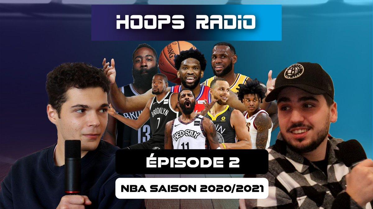 Et Hop l'épisode 2 de HOOPS RADIO Saison 2020/21 est en ligne !  Au programme :  - Steph Curry - KPJ  - Les @BrooklynNets_Fr  - Harden  - nos MVP   Cliquez bien et kiffez bien 🤟🔥 https://t.co/WHg4o79BcV  #NBA #BrooklynNets #stephcurry #LeBronJames #JoelEmbiid #jamesharden https://t.co/B1CPkCDTzk