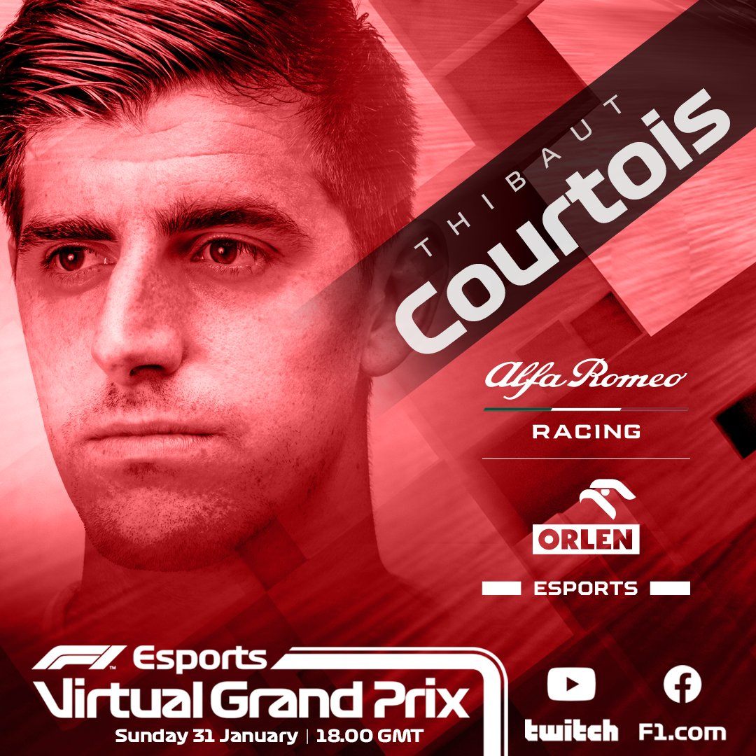Game on! 🍿 @thibautcourtois showed us what he could do last year and he's back at the wheel this weekend with his teammate @the_pieface 🍿  @SauberEsports #VirtualGP
