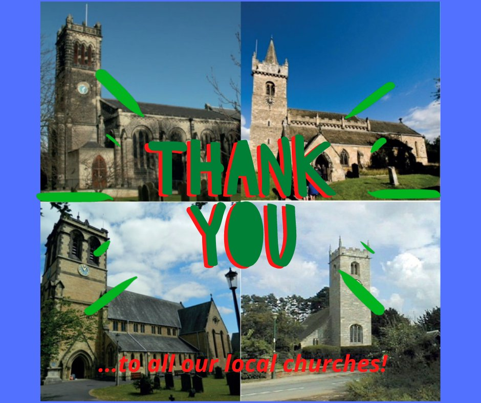 This week our #thursdaythankyou goes to all of our local churches. The churches across our community do a wonderful job, collecting and delivering food to our warehouse each week. Thank you, everyone!   #foodbanks #donations #churches https://t.co/GbKhfGBTox