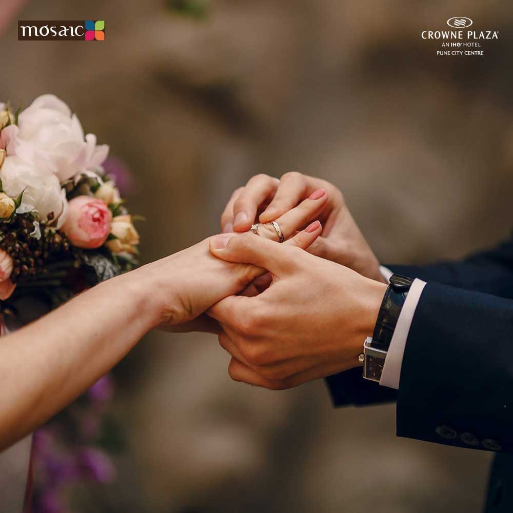 Planning a wedding—and making it feel as meaningful and personal as possible—is not always an easy feat.  Set your ceremony apart! Personalize your wedding with Crowne Plaza Pune City Centre. .  #crowneplazapune #marriage #marriagegoals #marriagevibes #punewedding #wedding