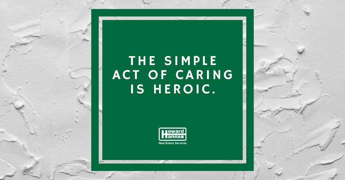 Be the hero who enlightens someone's day.  #HowardHanna #ThursdayVibes #ThursdayThoughts