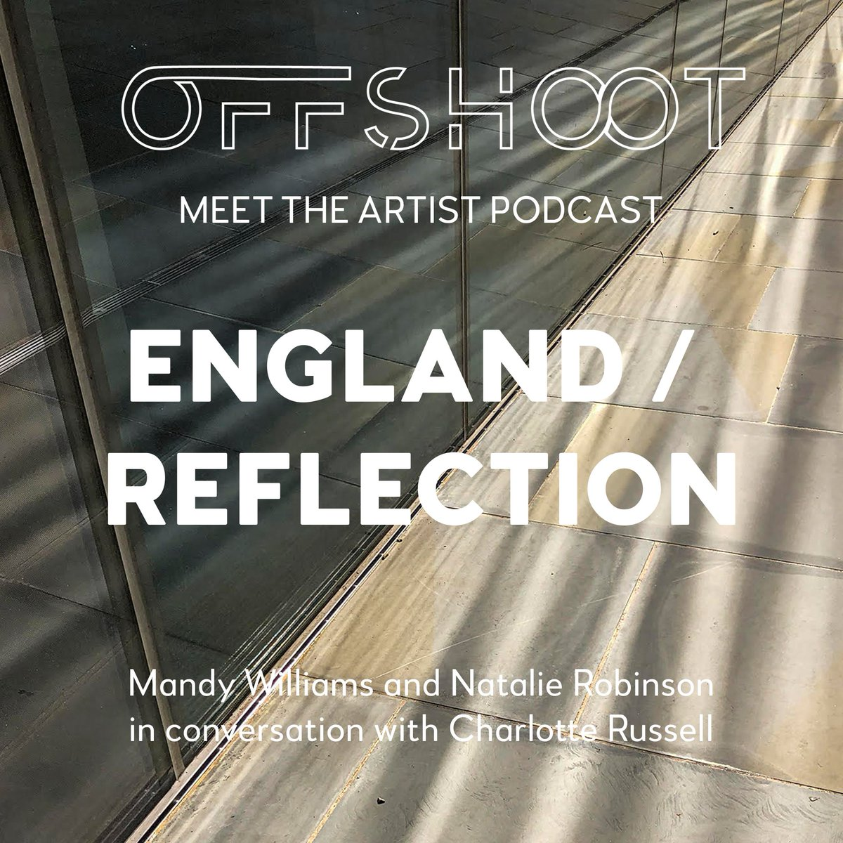 Join writer and curator Charlotte Russell in conversation with artists Mandy Williams and Natalie Robinson whose recent works England and Reflection are on display at Offshoot Gallery.    #england #reflection #mandywilliams #natalierobinson