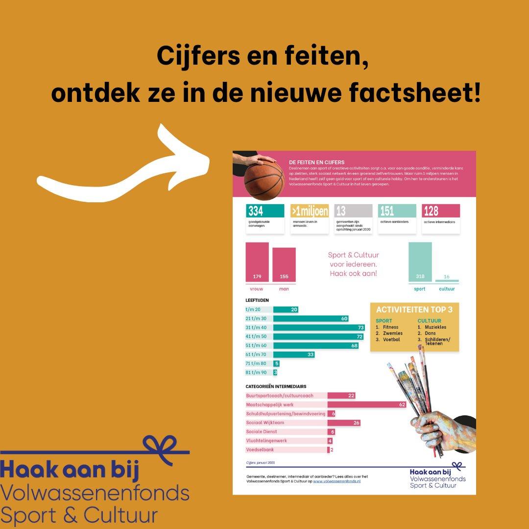 test Twitter Media - Hoe staat het ervoor met het Volwassenenfonds Sport & Cultuur? Nieuwe facstheet online!   👉🏻 Check https://t.co/RzCMWX3c3q  #factsheet #cijfers #fonds #participatie #meedoen #nederland #sport #cultuur #gezondheid #geengeld #support #budget #schulden #volwassenenfonds #haakookaan https://t.co/iGyNVmUqLf