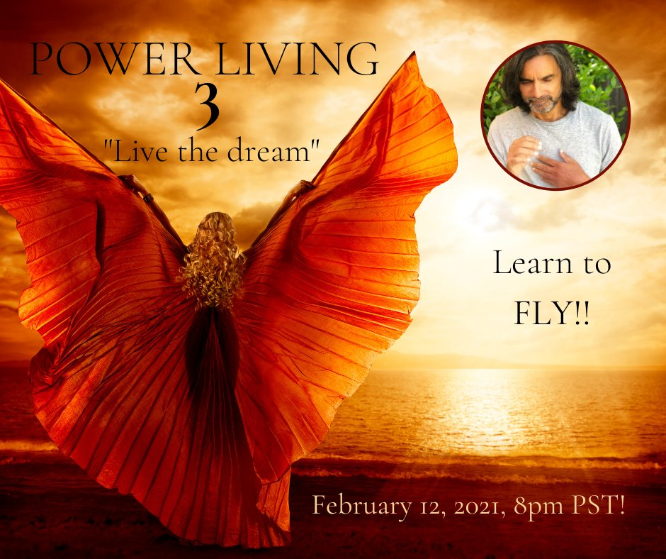 If you've done PLW 1 & 2, then it's time for for PowerLiving Three!     #patricksanfrancesco #energyhealer #humanitarian #inventor #thefirstprinciple #universe #consciousliving #spirit #harmony #powerlivingworkshop #PowerLiving #PLW