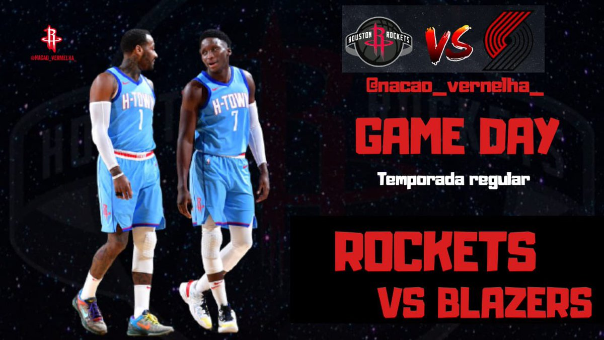 GAMEDAY!   ⏰ 21:30 📌 Toyota Center, Houston - TX 📺 SporTV e NBA League Pass. 🚑 Kevin Porter Jr e Dante Exum são os desfalques.  #Rockets #NBAnoSporTV https://t.co/10mdrj2oYa