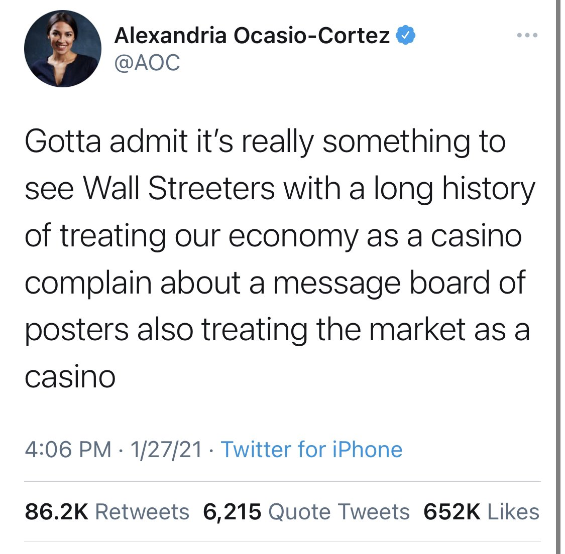When @AOC and @DonaldJTrumpJr are on the same side you know you fucked up @RobinhoodApp