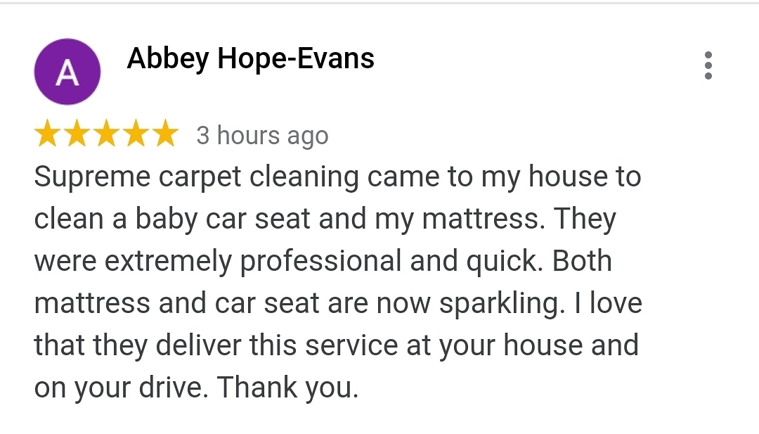 Another great 5 ⭐⭐⭐⭐⭐review! If you need a #clean of your #baby #car #seat and / or #buggy / #buggies pls call on 07970153637. We have the #bestprices and #service! #maxicosi #graco #britax #uppababy #cybex #jogger #nuna #buggaboo #joolz #mima