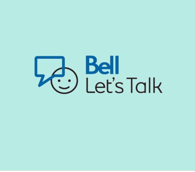 #BellLetsTalk #BellCause