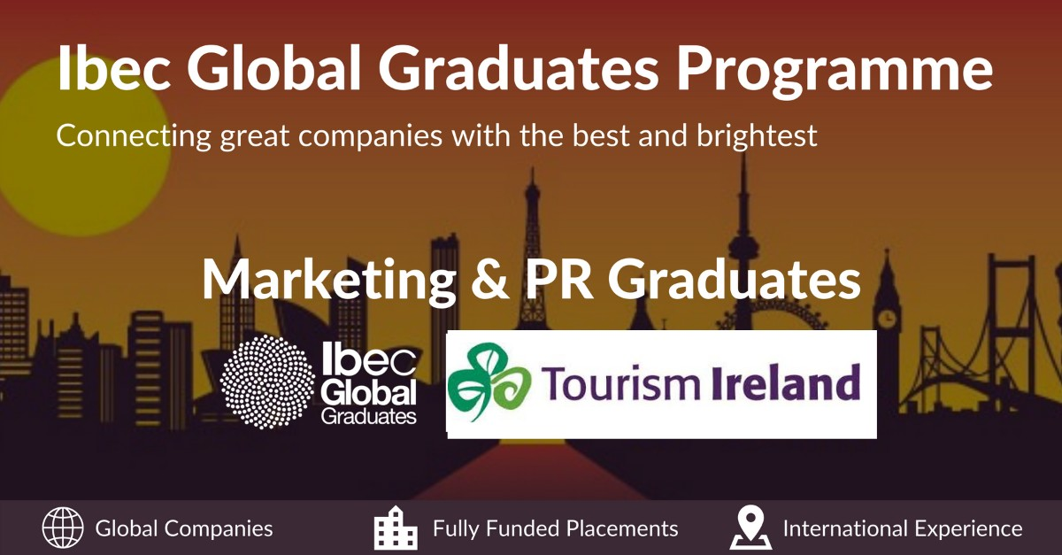 Calling all #Languagegraduates and #Finalyear students fluent in one of the following languages #French, #Italian, #Spanish or #German! Check out @TourismIreland graduate programme opportunities here:  and Apply today! #finalyear #graduatejobs #graduate