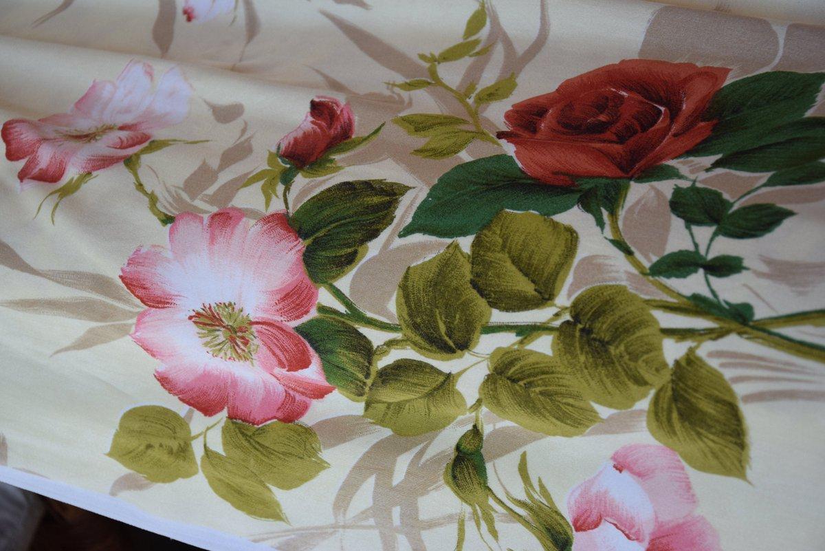 Pair Linen Silk Curtain Panel Drape Lambrequin Home Decor Briar pattern C 1950 Organic Home Decor Vintage Antique      #yellow #pink #antique #vintage #french #organic #linen #flax #curtain #rustic #drape #panel #lambrequin #briar #home #decor