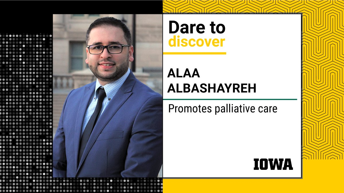 Before pursuing a Ph.D. in Nursing from the University of Iowa, Alaa Albashayreh worked as a nurse in Jordan and taught nursing at universities in Jordan, Saudi Arabia, and Oman.  https://t.co/I4O6HlDAhs #DiscoverUI https://t.co/KschQWkycm