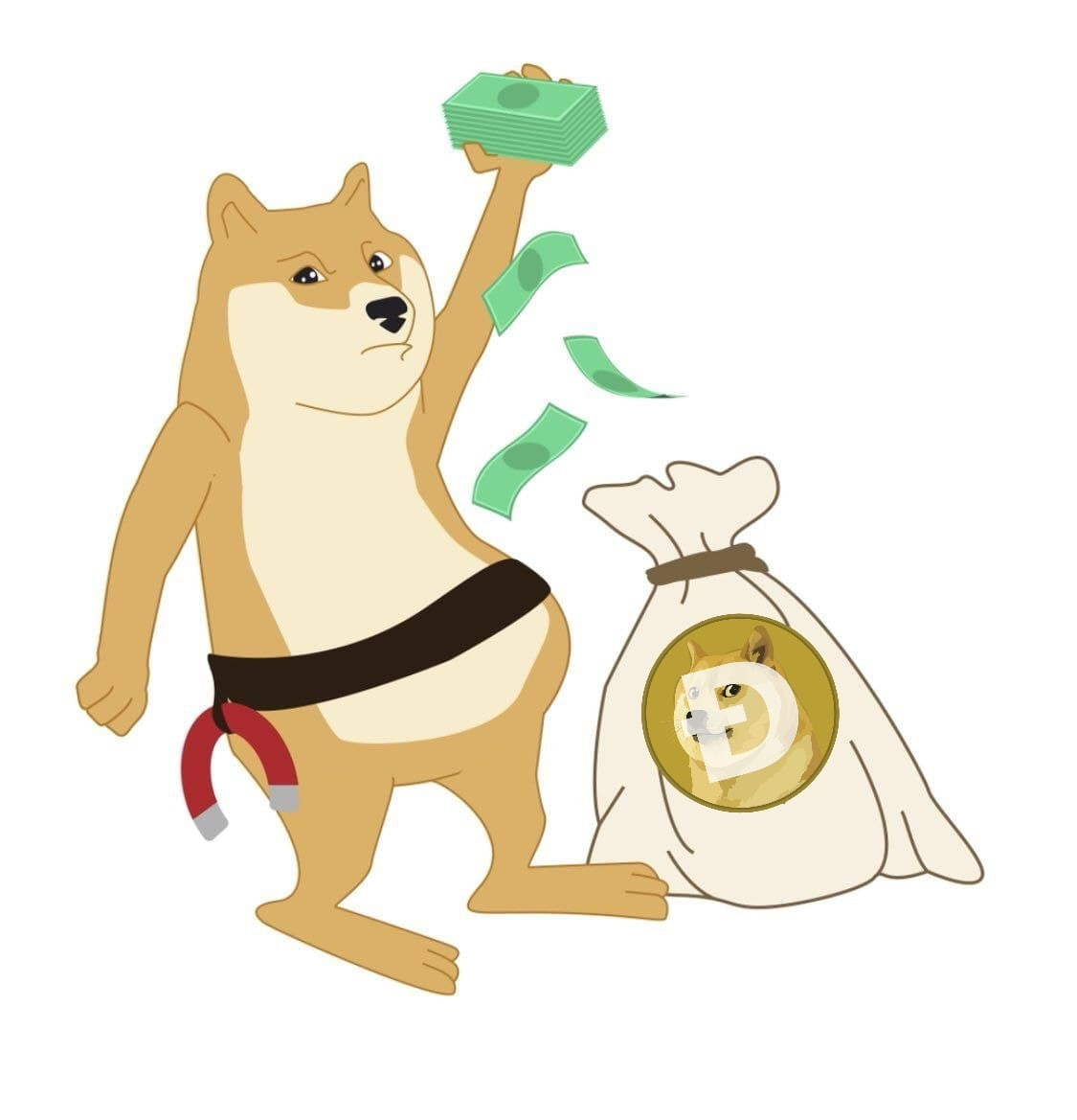 Loooooool, someone has opened massive shorts on $DOGE, let's squeeze them boys and make them buy #dogecoin at double the price! #wallstreetbets