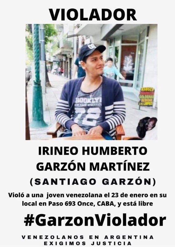Exigimos todo el peso de la ley en Argentina para éste violador y roba sueños de jovenes en busca de empleo. No más abusos y violaciones!  #GarzonViolador #garzonvioladorycoñodemadre #Argentina #lorenabobbitt