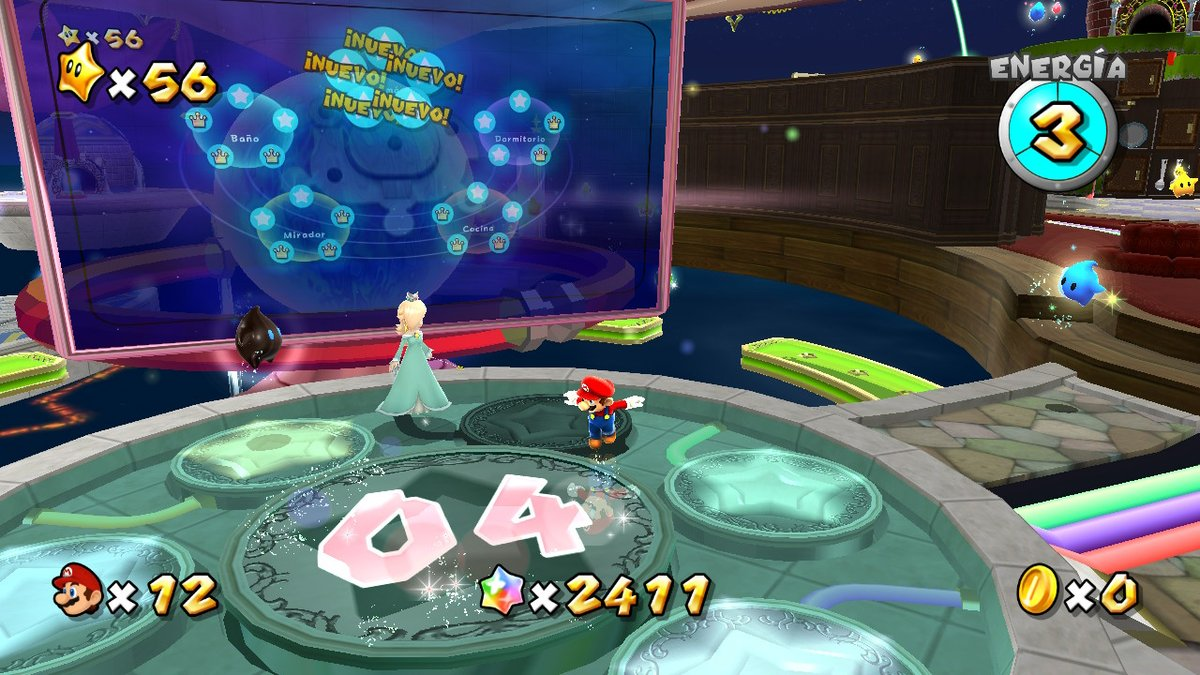 pues ya solo me quedan 4 estrellas jaja (para pasarme la historia principal) #SuperMario3DAllStars #NintendoSwitch