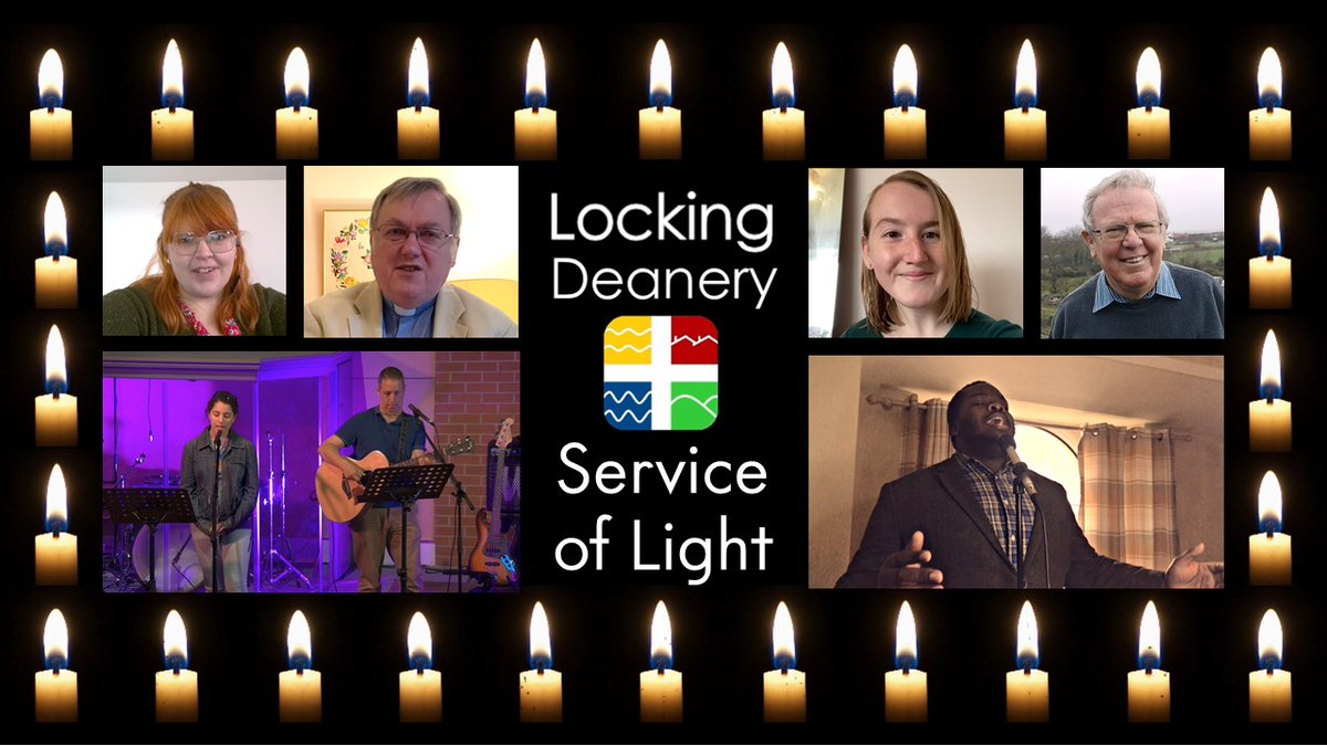 Just 3 days to go until you can tune in to the Locking Deanery Service of Light at https://t.co/AdOnQVN2as. Wonderful worship, prayers and an inspiring message from Bob Key - Anglican Leader of Thy Kingdom Come. Looking forward to it!