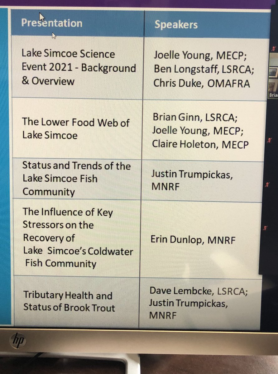 Attending an #MECP #LakeSimcoe #Science event with presentations from @LSRCA #OMAFRA #MNRF #MECP #informative #AndreaKhanjin @JeffYurekMPP Thanks for the invite https://t.co/leNyIcX4Zw