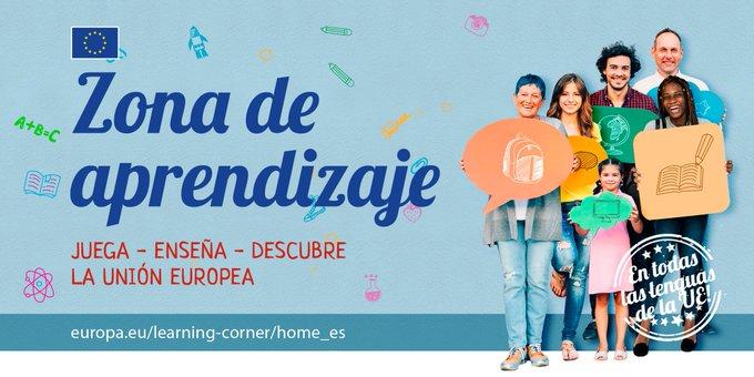 """Europe Direct Comunitat Valenciana on Twitter: """"👩🏫 ¿Eres profesor y quieres enseñar a tus alumnos a conocer la Unión Europea (UE) 🇪🇺? ¿Necesitas material? 🙋♂️ ¿Eres estudiante y quieres descubrir la UE"""