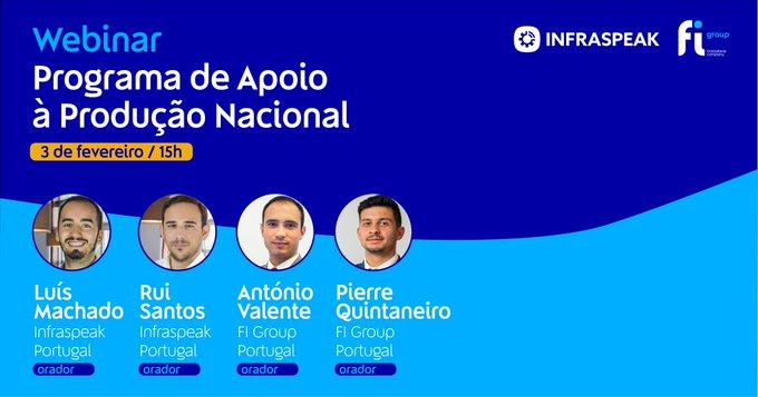 Na próxima quarta-feira, 3 de fevereiro, às 15h vamos estar à conversa com Luís Machado, Rui....