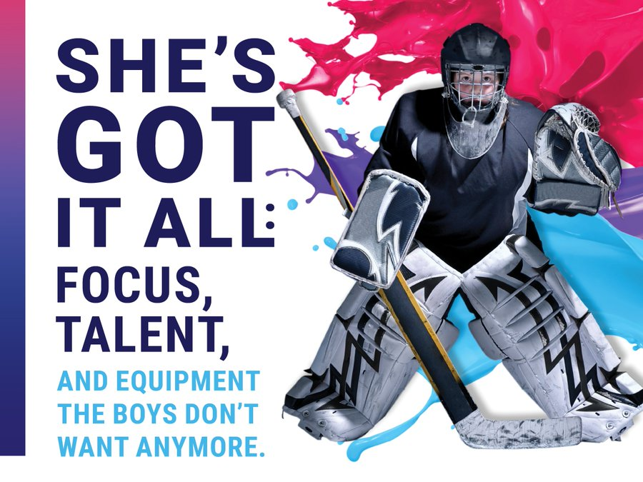 1 in 3 girls drops out of sport by age 18, missing out on the #Mentalhealth benefits of sport.  #BellLetsTalk Here are some ways you can support girls in sport.