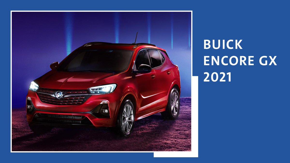 "Buick #EncoreGX 2021 con exclusivo diseño Sport Touring, faros LED Intellibeam y rines de 18"". #LadoBdelLujo https://t.co/nNShnVehNh"