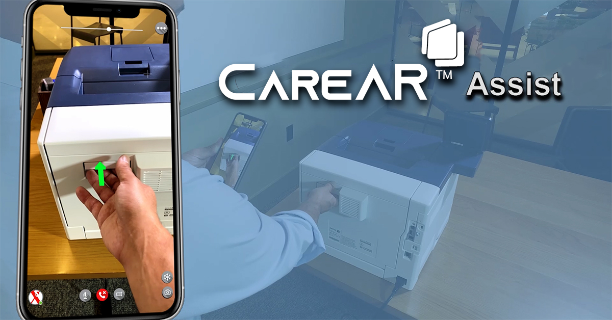 Image for the Tweet beginning: See how CareAR Assist, an