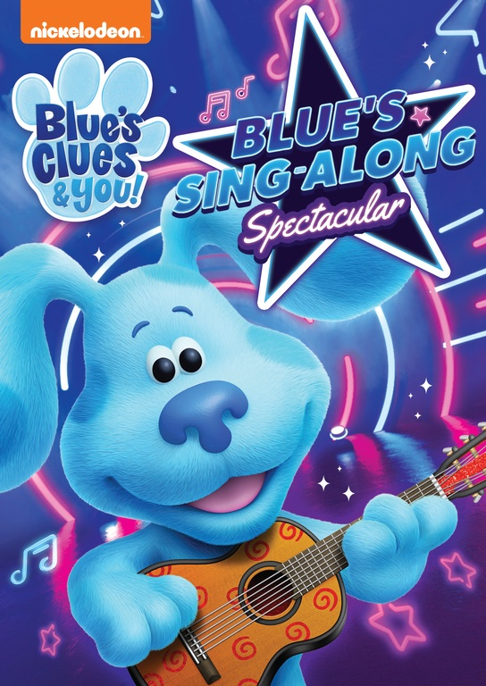 Blue's Clues and You: Blue's Sing-Along Spectacular DVD Review and Giveaway