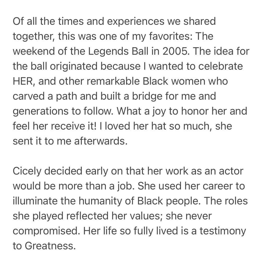 Cicely Tyson 🙏🏾🕊