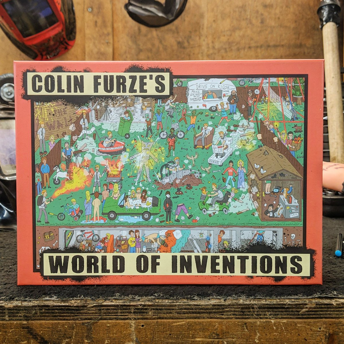 It's national puzzle day so grab the best there is at   #nationalpuzzleday  #colinfurze #lockdown #sparetime