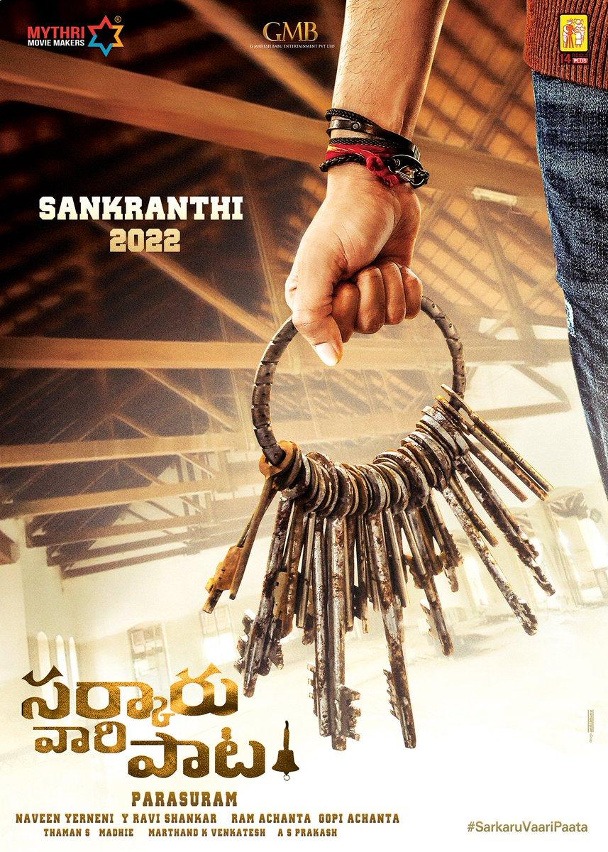 Sankranthi it is!!! 😊 #SarkaruVaariPaata   @KeerthyOfficial @ParasuramPetla @MusicThaman @GMBents @14ReelsPlus @MythriOfficial