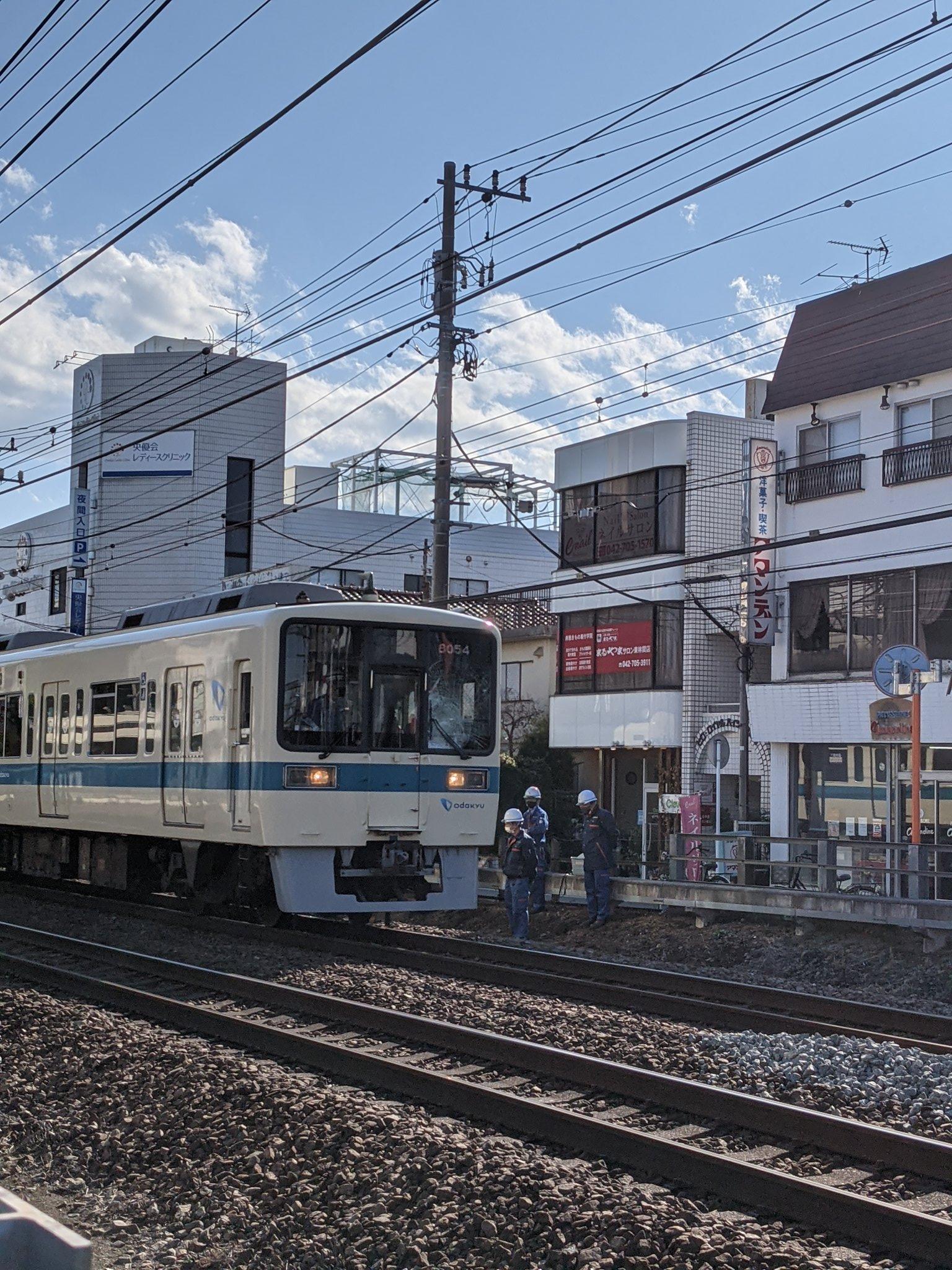 東林間駅の飛び込み自殺の当該列車の画像