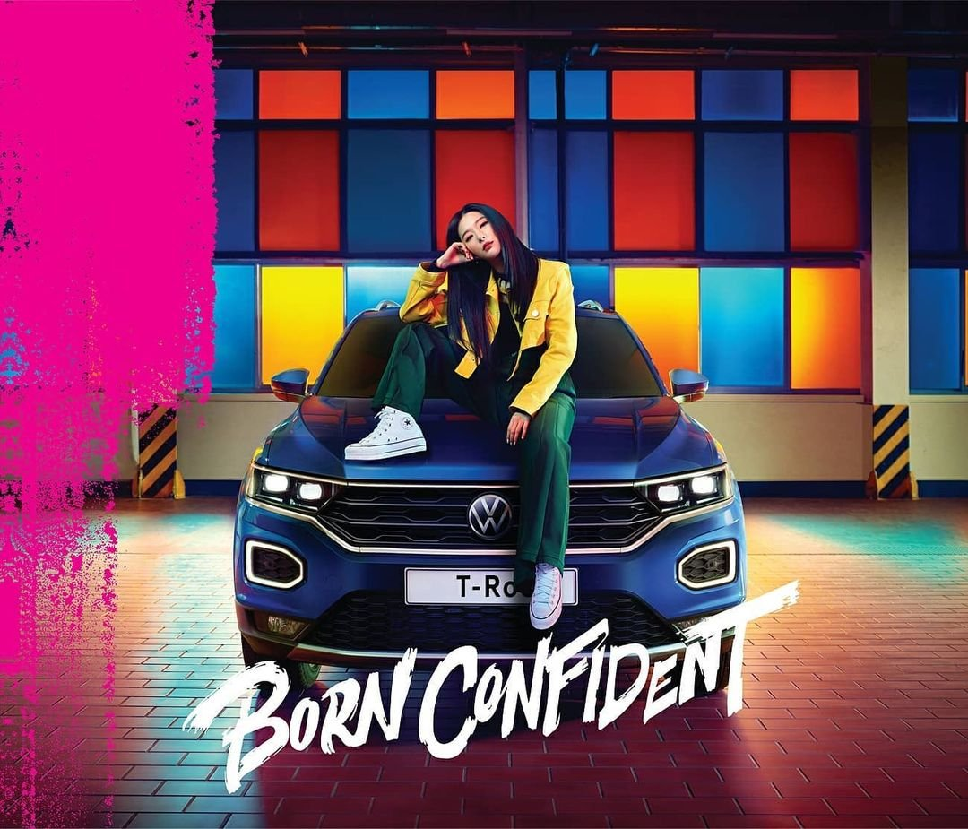 Seulgi premieres Born Confident for its campaign with Volkswagen