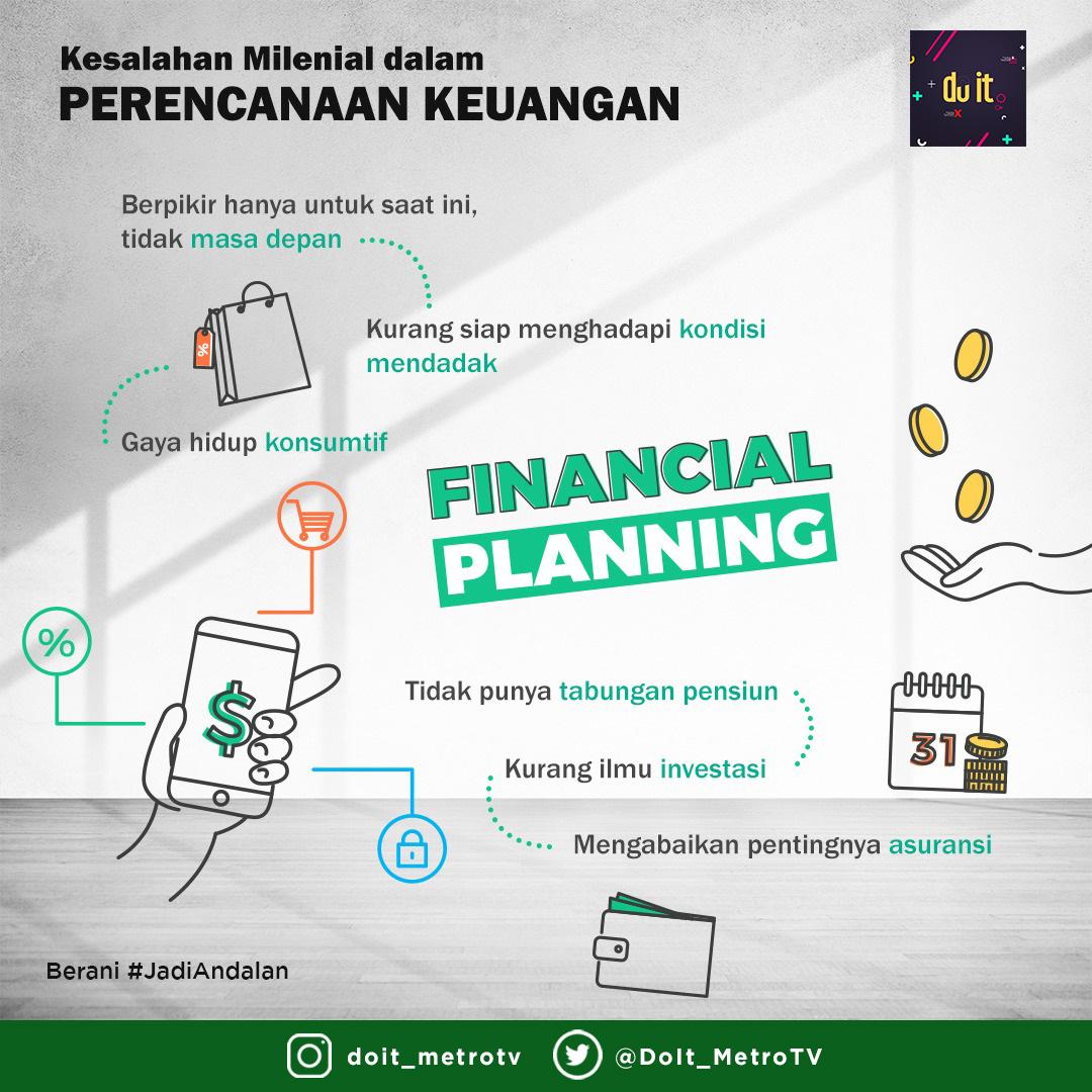 Hati-hati! Kesalahan milenial dalam mengatur perencanaan keuangan bisa membuat menyesal di kemudian hari.  Nah, apakah kamu salah satu yang masih melakukan dari point-point ini?       Berani #JadiAndalan