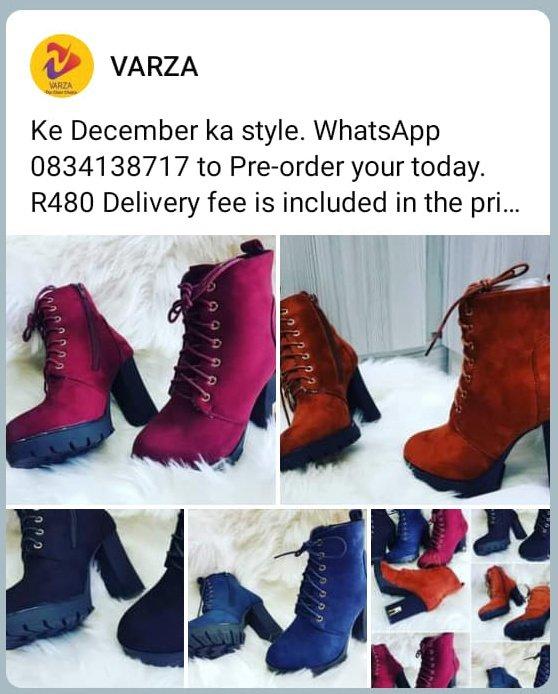 Ladies Boots and High Knee Boots. #silhouettechallenge #RHODurban #RIPSibongileKhumalo #RIPJacksonMthembu #emtee #ExpressoShow #Bitcoin #PAKvsSA #ShowMeTheGalaxyS21 #FridayMotivation #RIPJonasGwangwa #VoetsekANC
