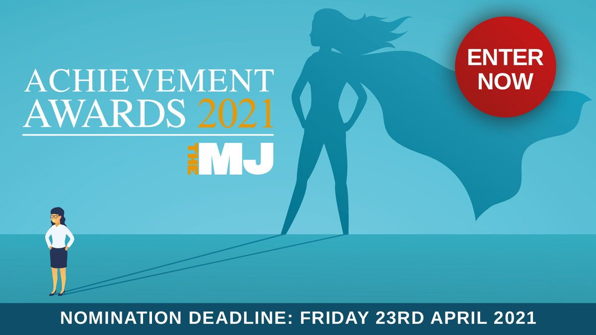 RT @TheMJAwards New date alert! The MJ Awards now take place on 17th Sept, which means you now have until the 23rd April to enter. More here: https://t.co/tAwC54F0kb