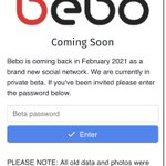 Image for the Tweet beginning: 2021 is officially saved!   #BeBo