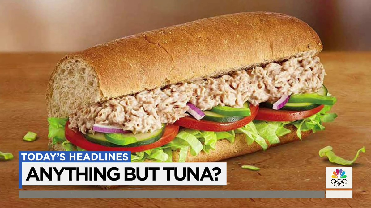 Subway is facing claims that its tuna sandwiches don't actually contain any tuna. Subway denies the claims.
