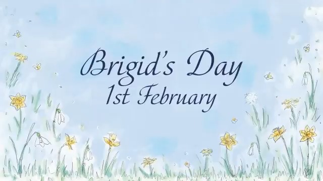 Image for the Tweet beginning: Today is #StBrigidsDay, which traditionally