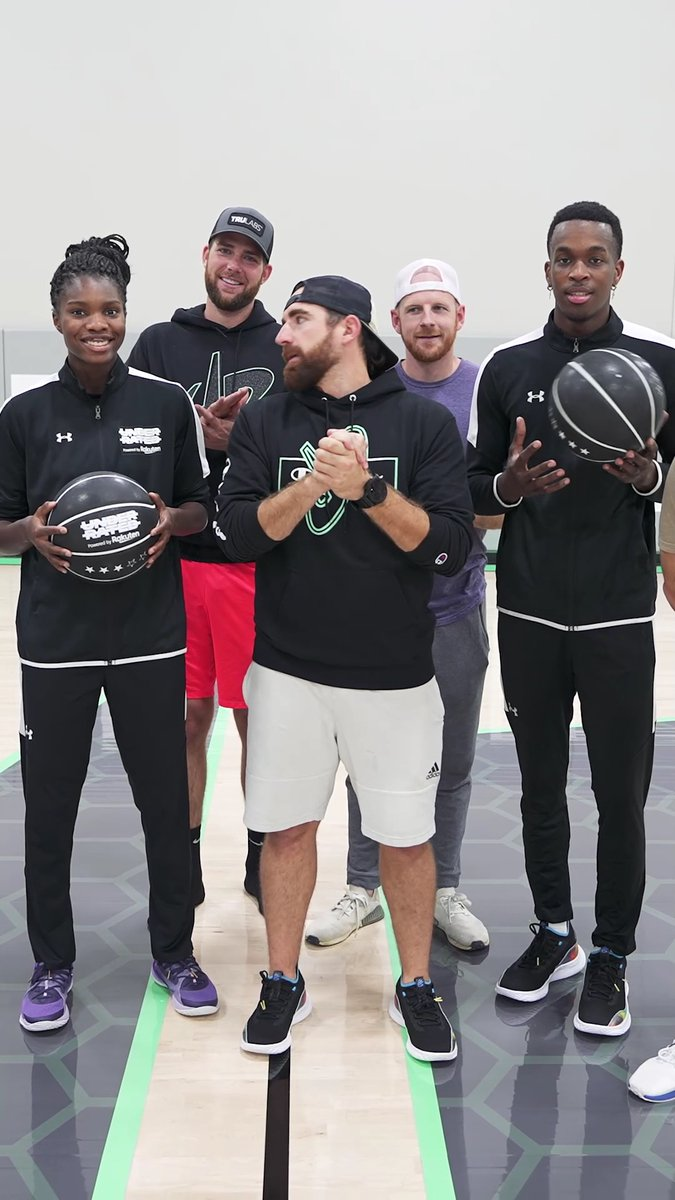 Though we didn't get to finish the 2020 Underrated Tour Powered by @RakutenSports, we recruited some friends to help us keep the fun rolling. Shout out to @DudePerfect.