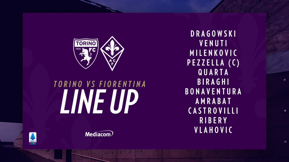 Fiorentina Lineup - Picking The Best Potential Juventus ...