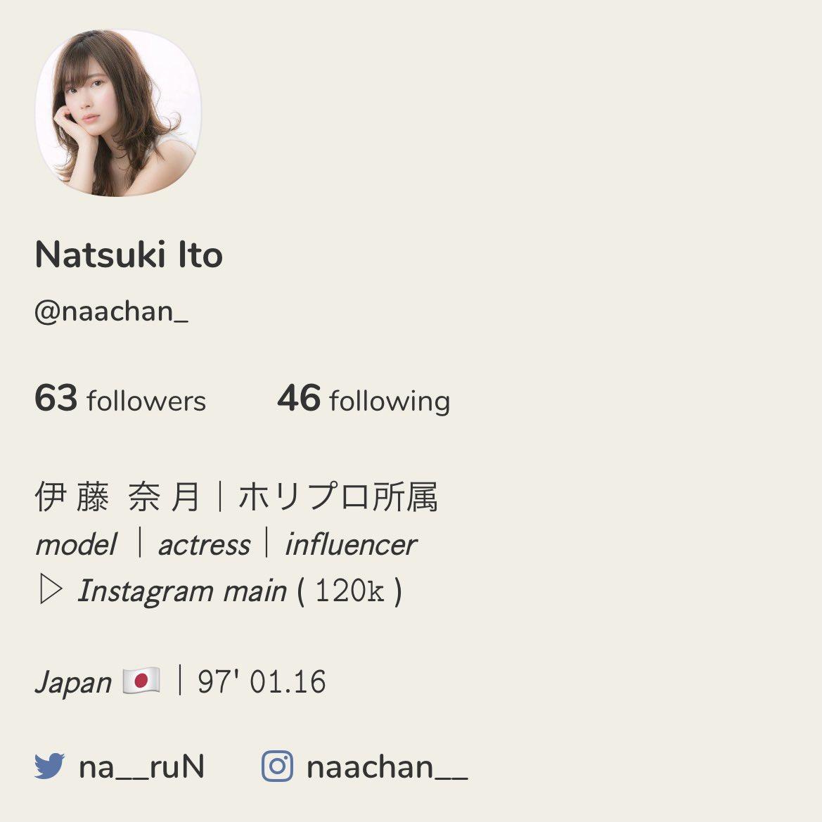 奈月 ブログ