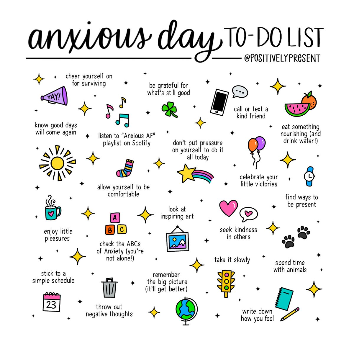 Feeling anxious? Here are some things that help me on anxious days!