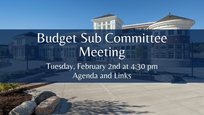 FPS: Budget Subcommittee Meeting - Feb 2