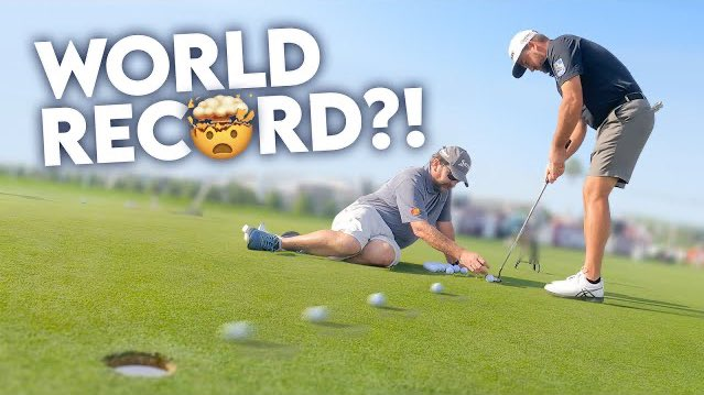 CAN'T BELIEVE HE DID THIS! @Graeme_McDowell & ME | Golf World Record