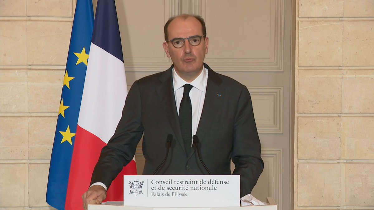 French Prime Minister Jean Castex announced new travel restrictions on Friday 29th January