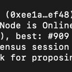 Image for the Tweet beginning: .@IPFS node running now on